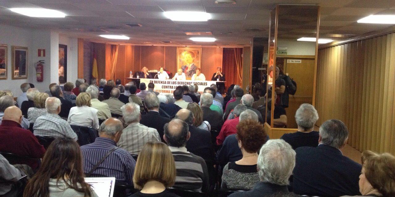 La Plataforma Mayores en Acción traslada sus reivindicaciones a varias candidaturas municipales