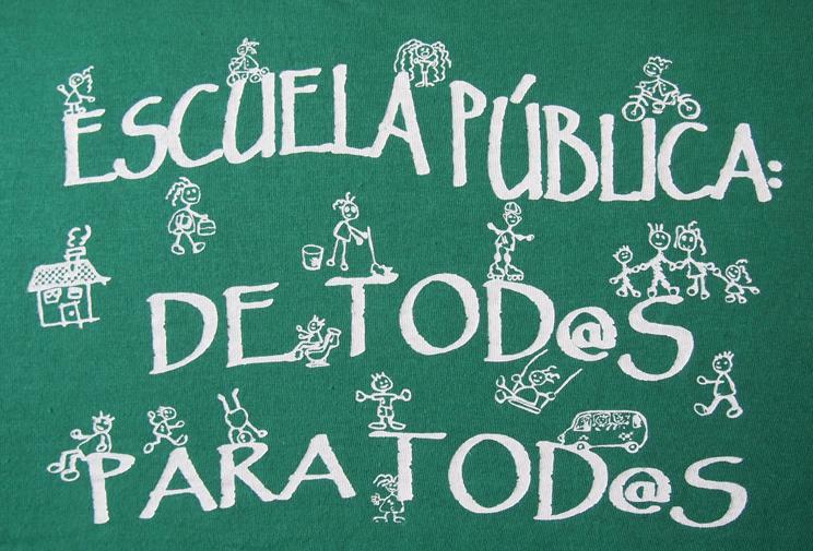 La Plataforma Regional por la Escuela Pública pide la reversión de los recortes