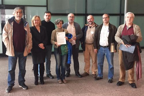La Plataforma por el Derecho a la Ciudad pide la activación de la mesa de trabajo parlamentaria sobre la Ley de Suelo