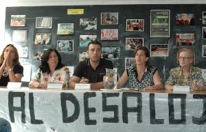 La asociación vecinal de Prosperidad se rodea de apoyos en su resistencia al desalojo
