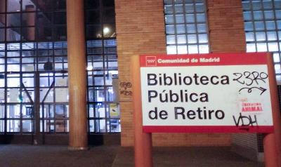 La biblioteca regional de Retiro permanecerá aún varios meses cerrada