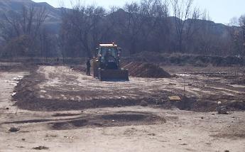 La ciudad patrimonio de la humanidad destruye un yacimiento arqueológico del calcolítico