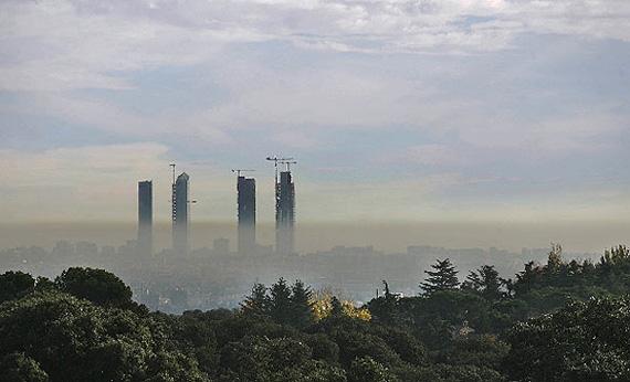 La contaminación del aire en la Comunidad de Madrid vuelve a superar los límites legales en 2010