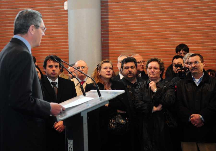 La estación de El Pozo recordará a las víctimas del 11-M con un monumento de 'Peridis'
