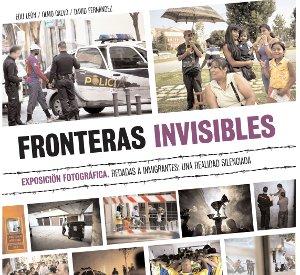 """La exposición """"Fronteras invisibles"""" recala en el barrio de Lucero"""