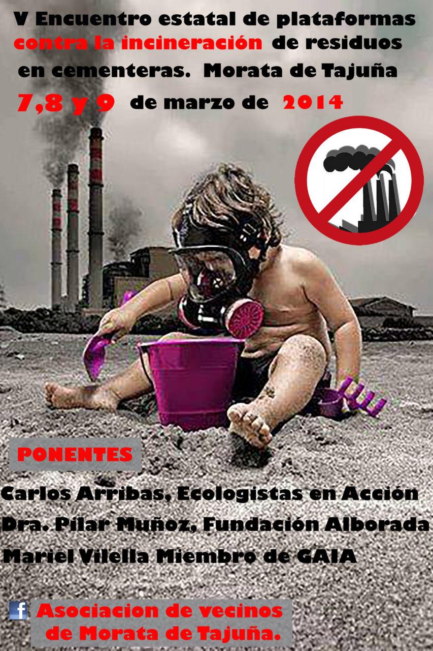La incineración de residuos en la cementera de Morata dispara la contaminación