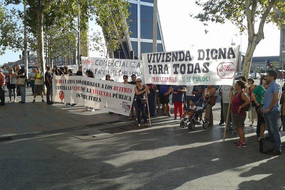 La justicia acepta el segundo contencioso administrativo contra la venta de viviendas públicas del IVIMA