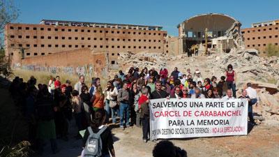 La lucha por la creación de un centro para la memoria en la cárcel de Carabanchel continúa