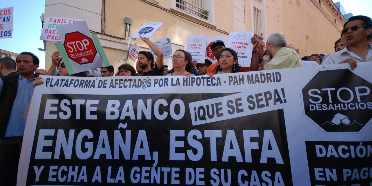 La solidaridad ciudadana impide que un vecino de Tetuán pierda su vivienda
