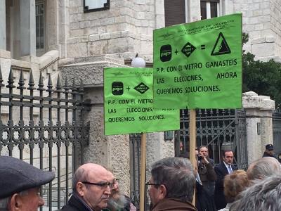 Las AAVV traslararán a Podemos-Asamblea de Madrid su preocupación por las 300 viviendas afectadas por el metro en San Fernando