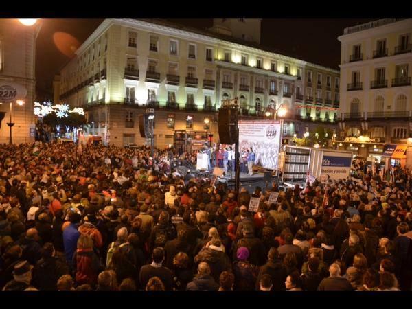 Las Marchas de la Dignidad vuelven a Madrid para exigir pan, trabajo, techo… ¡Dignidad!