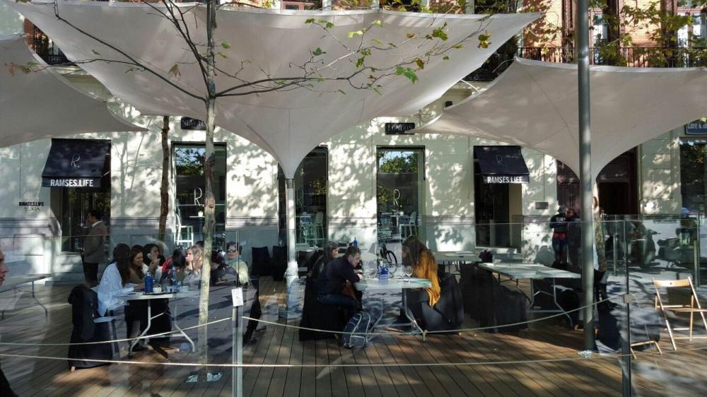 Las asociaciones del distrito Centro reclaman una ordenanza sobre terrazas más restrictiva