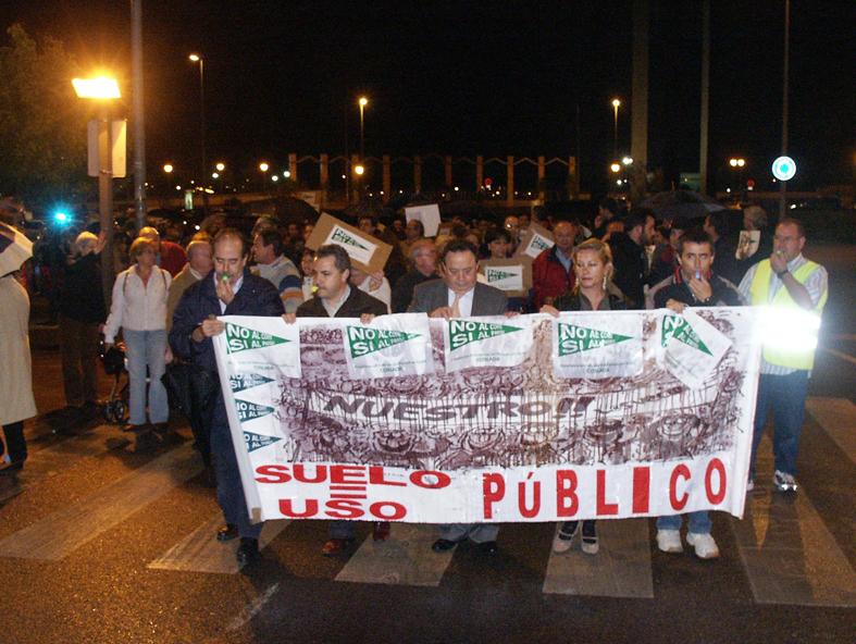 Las asociaciones vecinales, contra la construcción de un centro de El Corte Inglés en Coslada