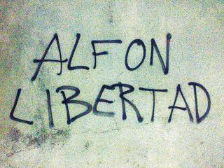 Las asociaciones vecinales de Madrid reclaman la inmediata puesta en libertad de Alfon