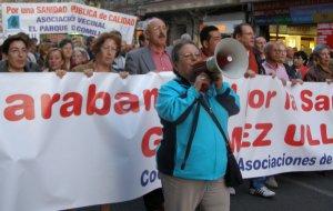 Las asociaciones vecinales protestan contra el decreto de área única