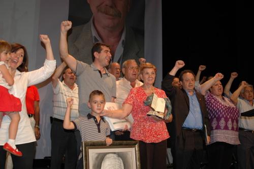 Las asociaciones vecinales rinden homenaje a Eusebio Calle
