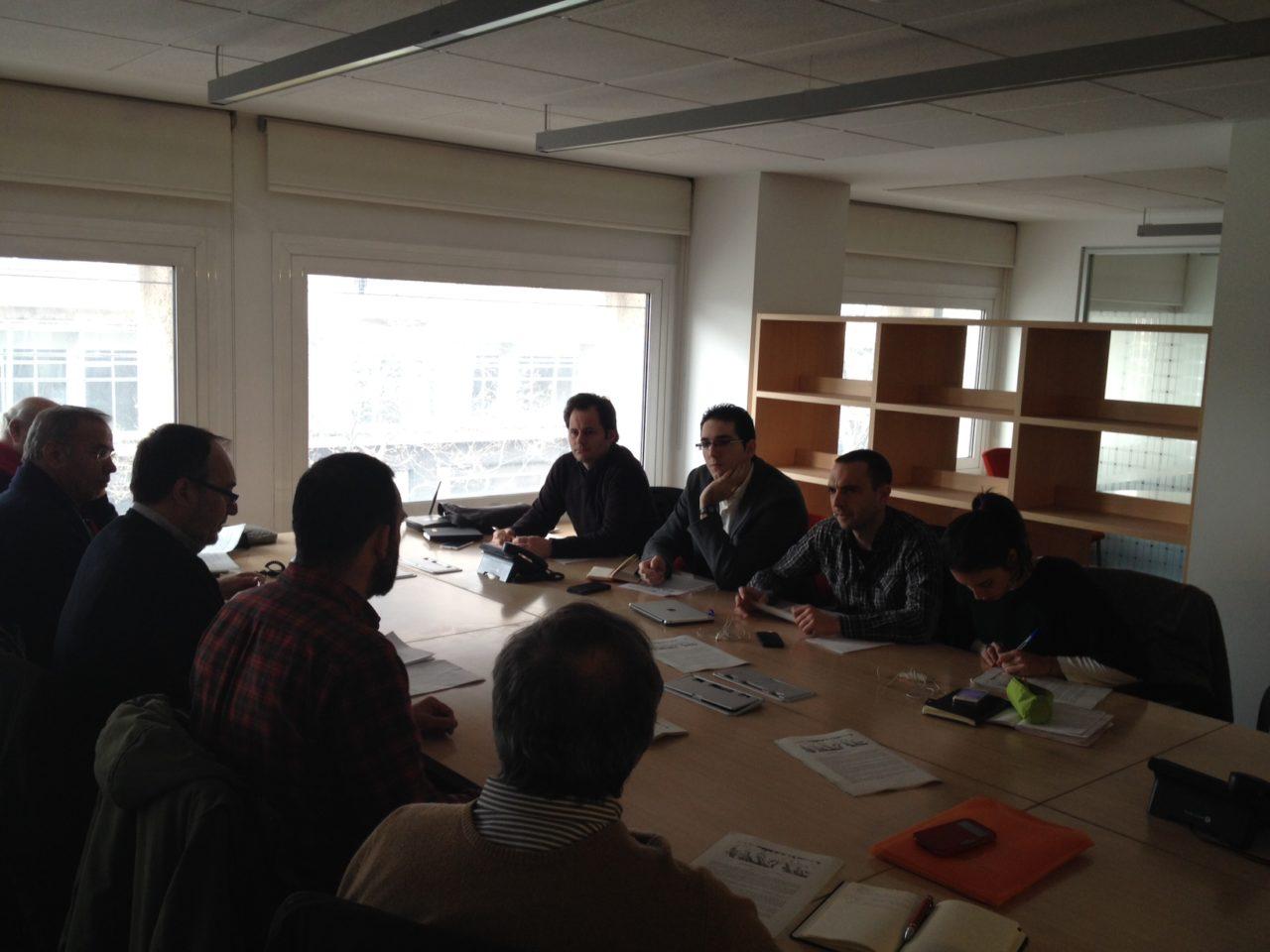Las organizaciones sociales reunidas en el Encuentro Vecinal trasladan sus propuestas a Podemos Madrid