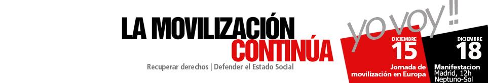 Las organizaciones sociales se suman a las movilizaciones sindicales