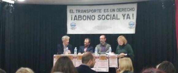 Las personas receptores de la RMI serán las primeras beneficiarias del abono social de transporte