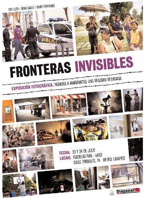Lavapiés acoge una exposición fotográfica sobre redadas a inmigrantes en la capital