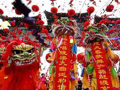 Lavapiés da la bienvenida al año nuevo chino