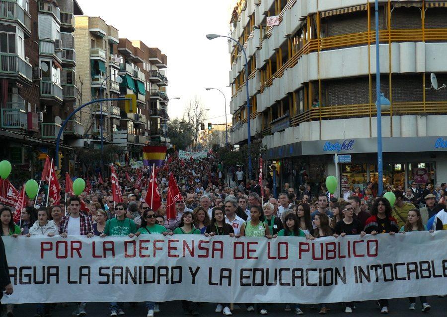"""Leganés """"calienta"""" las calles de cara a la huelga general del 29M"""