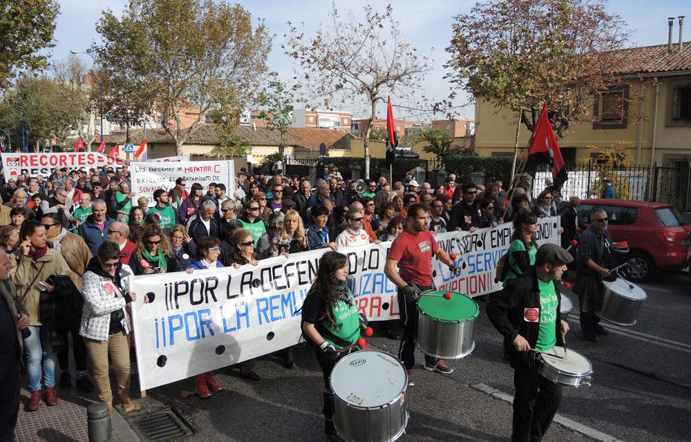 Leganés exige empleo, vivienda y servicios públicos dignos
