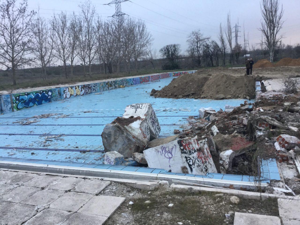 Leganés se moja por la piscina de La Solagua