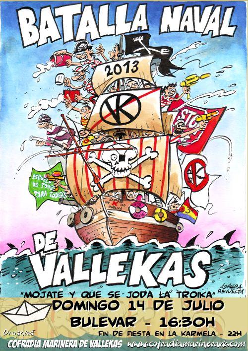 Llega la 32ª edición de la batalla naval de Vallekas