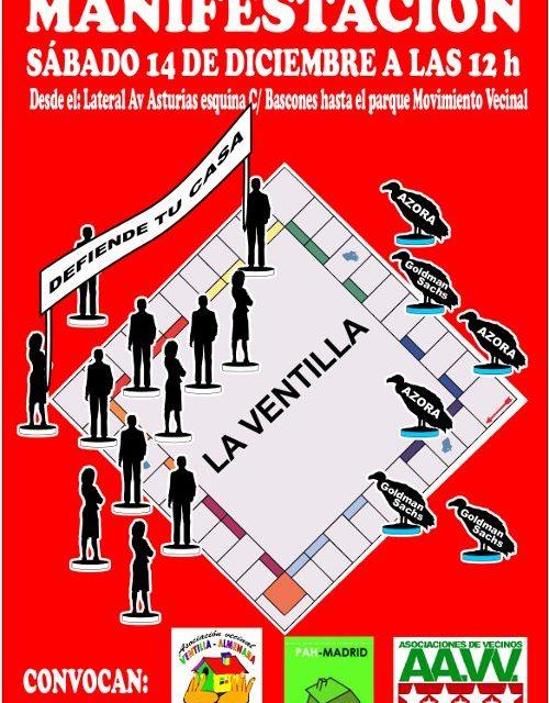 Los afectados por la venta de viviendas del IVIMA protestarán este sábado 14D en La Ventilla