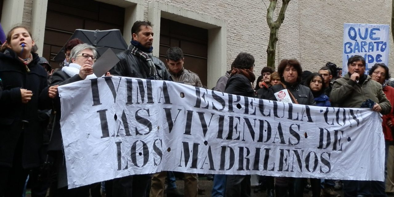 Los afectados por la venta de viviendas del IVIMA recibirán a Ana Gomendio en la puerta de los juzgados