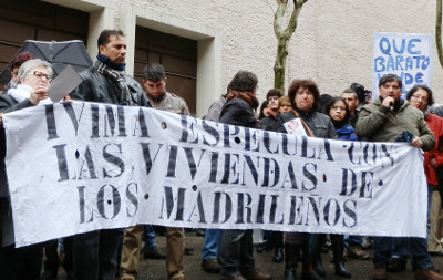 Los afectados por la venta de viviendas del IVIMA se felicitan por la dimisión de Van-Halen