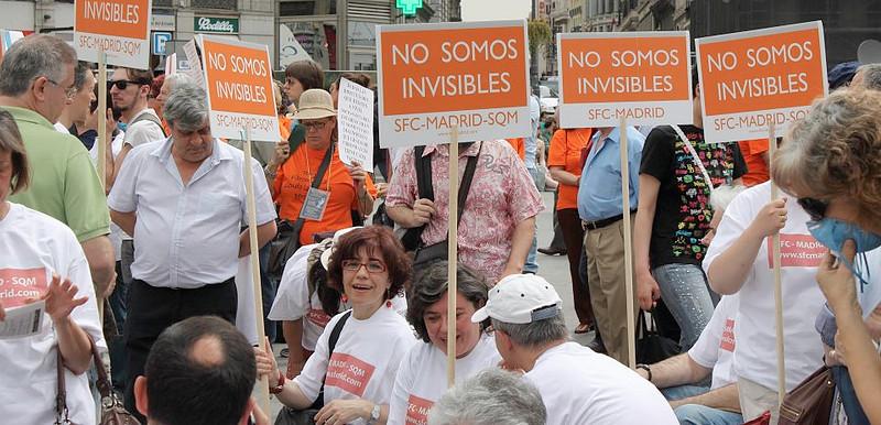 """Los enfermos por Síndromes de Sensibilización Central (SSC), a los políticos: """"también existimos"""""""
