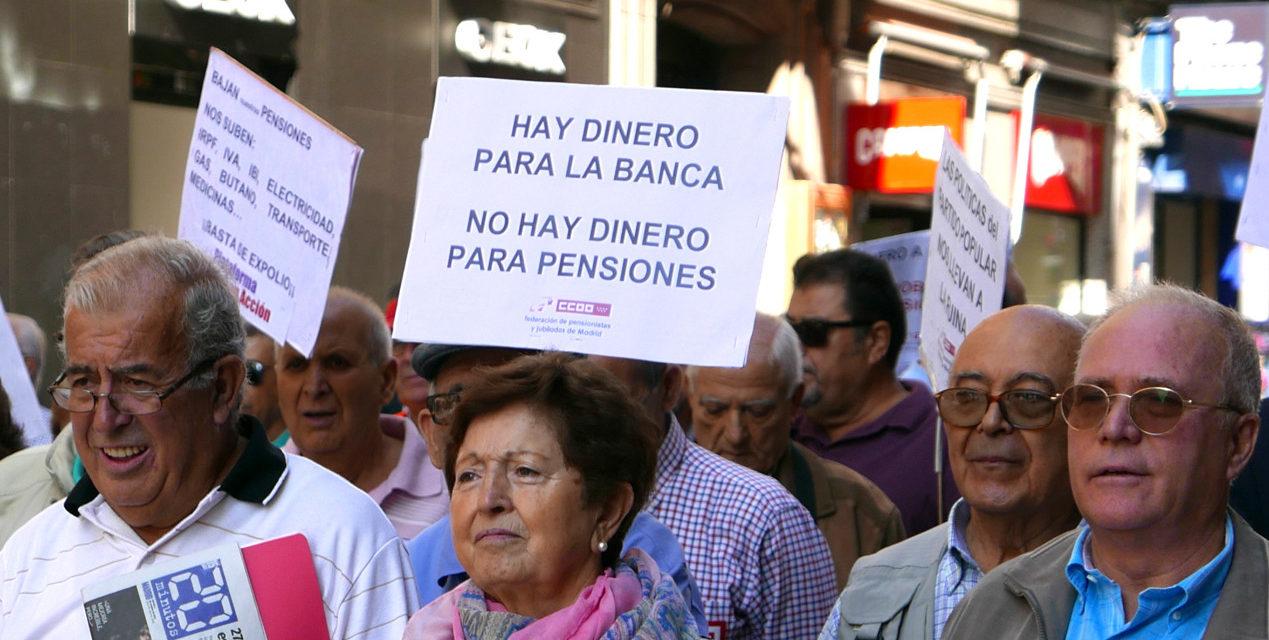 Los mayores ponen en marcha una red estatal para luchar por el sistema público de pensiones