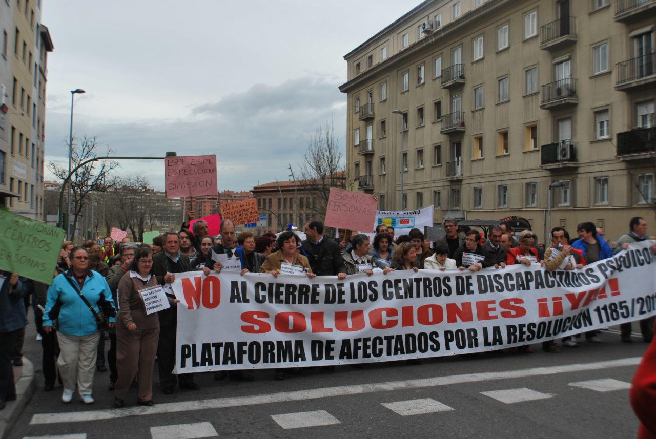Los usuarios y trabajadores de los centros ocupacionales clausurados por el Gobierno regional no están solos