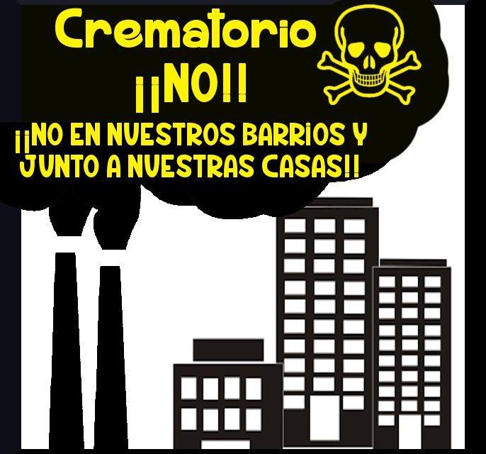Los vecindarios de Villaverde y Usera se movilizan contra la construcción de un nuevo crematorio