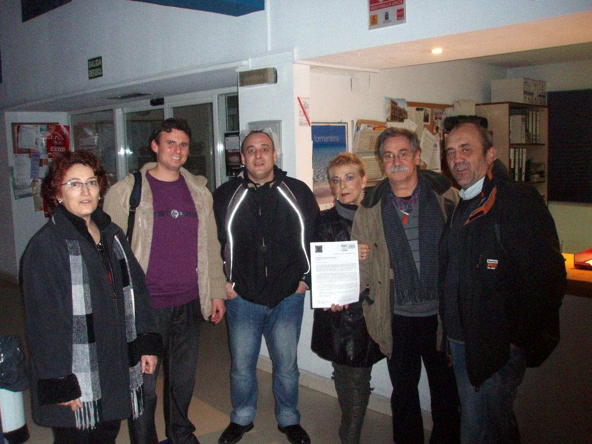 Los vecinos de Mejorada del Campo presentan su propuesta de presupuestos participativos para 2011