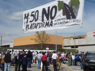 Los vecinos y vecinas replican a Blanco: No queremos aeropuerto en El Álamo ni el cierre de la M-50