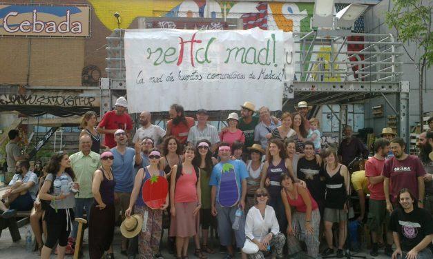 Madrid acoge el I Encuentro Estatal de Redes de Huertos Urbanos Comunitarios