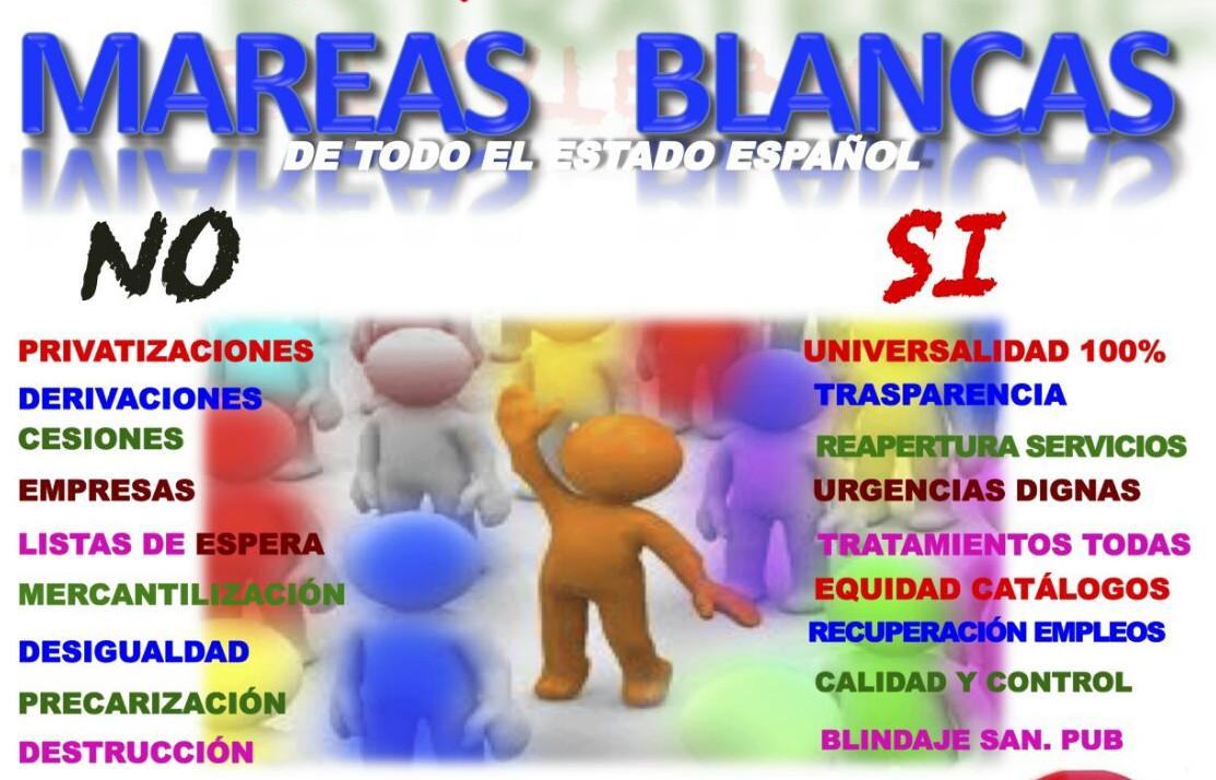 Madrid acoge el primer encuentro estatal de Mareas Blancas