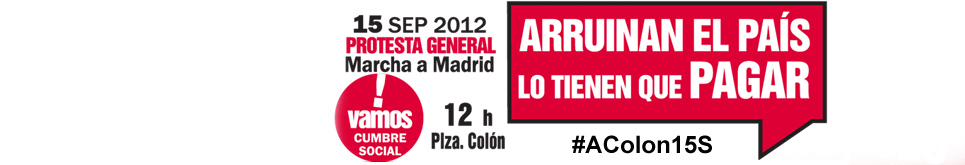 Madrid calienta motores para el #15S