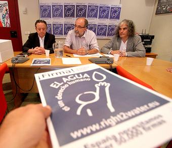 Madrid recoge 13.700 firmas contra la privatización del agua