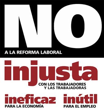 Madrid saldrá a la calle contra la reforma laboral