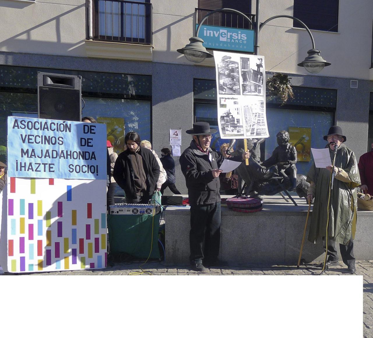 Majadahonda canta las desventuras del municipio