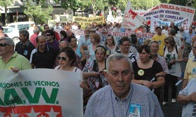 Más de 1.500 personas claman de nuevo por la sanidad pública madrileña