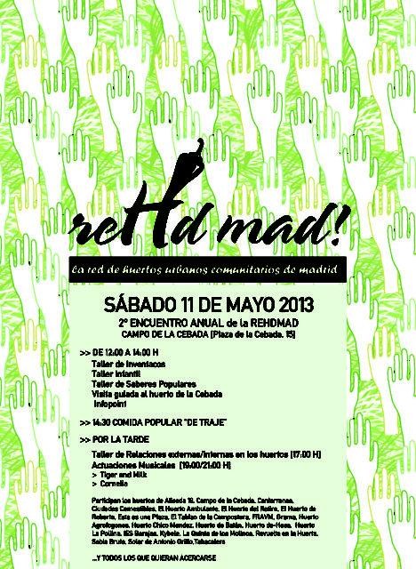 Más de 20 huertos urbanos sembrarán sus propuestas en El Campo de La Cebada