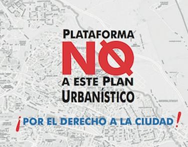 Nace la Plataforma No a Este Plan Urbanístico