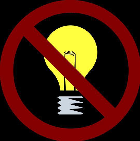"""Nuevo """"apagón"""" contra el incremento de la tarifa eléctrica"""