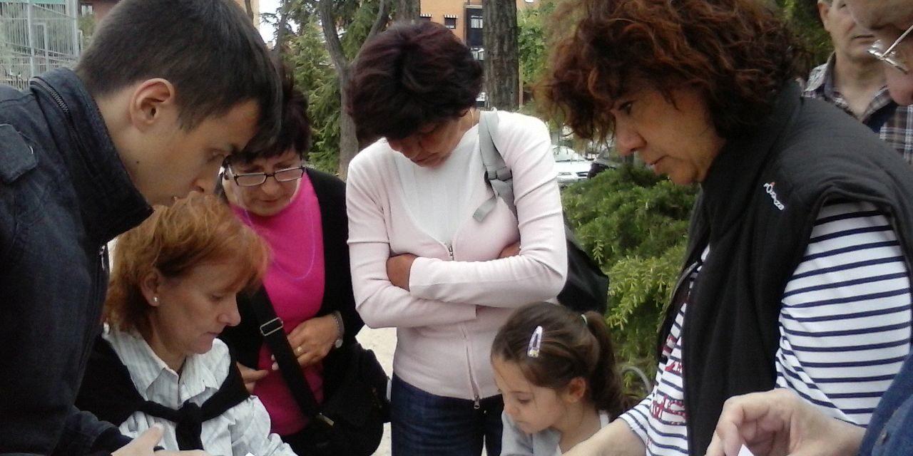 Opañel pide un polideportivo en la parcela anexa a la parroquia Santa Catalina Labouré