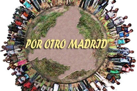 """Organizaciones sociales y sindicales presentan su """"Propuesta ciudadana por otro Madrid"""""""